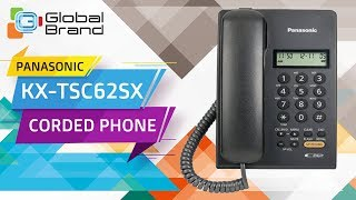 Panasonic KX-TSC62SX Corded Phone Integrated Telephone Set | PABX | Unboxing | Review