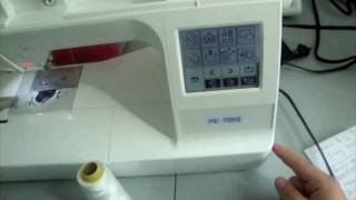 Cómo usar una bordadora computarizada - La receta de la abuelita