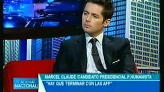 Marcel Claude en Programa Cadena Nacional (14 de Mayo 2013)