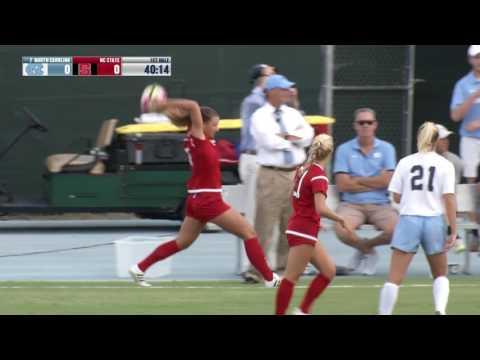 2016.09.16 NC State Wolfpack at #7 North Carolina Tar Heels Women's Soccer