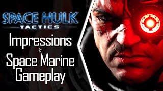 Space Hulk: Tactics - FINALLY a Good Space Hulk! - Impressions & Space Marine Gameplay