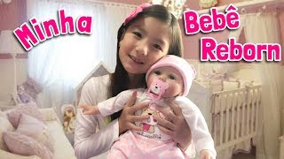 Обложка на видео о MINHA BEBÊ REBORN DA CHINA | ALIEXPRESS | FOFURICES DA GABI