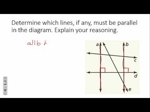 Proofs with Perpendicular Lines
