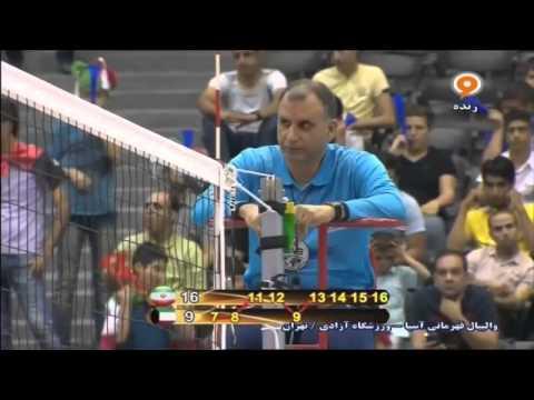 Kuwait vs Iran | 2015 Asian Men's Volleyball Championship