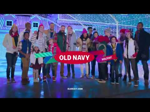 michael williams old navy holiday - Old Navy Christmas Commercial