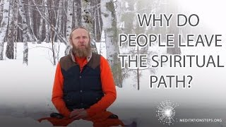 Gambar cover Why do people leave the spiritual path?