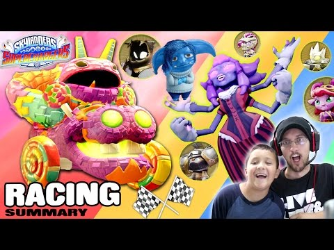 Skylanders Superchargers Racing Villains Gameplay (Everything You Need to Know Update)