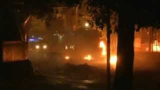 Clashes intensify in Istanbul