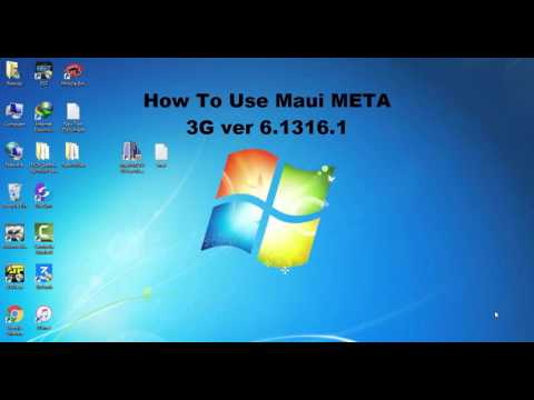 How To Use Maui META 3G | All Mtk Imei Writing Tool
