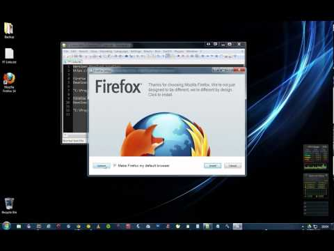 How To Install Multiple FireFox Versions on Windows 7