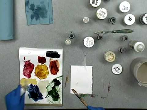 Painting Texture With Cheesecloth