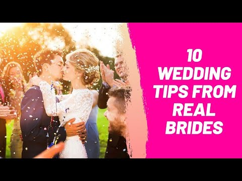 10 Wedding Tips From Real Brides