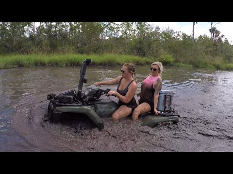 Fun in the Lazy River at Hog Waller Mud Bog