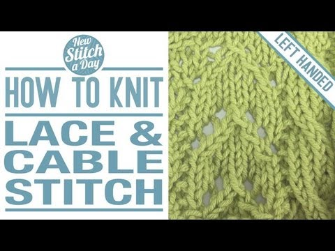 How To Knit The Textured Stitch English Style Left Handed From Youtube - yout...