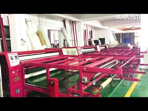 Sublistar Calender Heat Press for sportswear & textile
