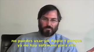 Steve Jobs habla de como lo verán en el futuro