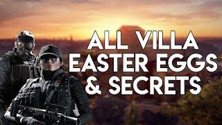 All New Rainbow Six: Siege Villa Easter Eggs & Secrets