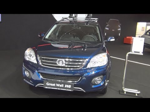Great Wall H6 Premium 2.0 Diesel 143 hp 4x4 (2016) Exterior and Interior