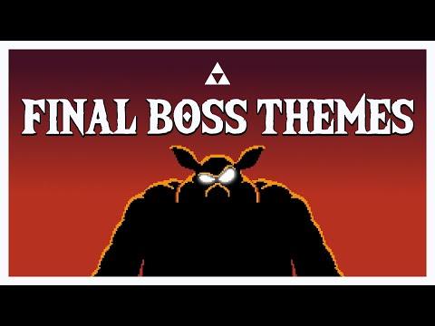 The Legend of Zelda - All FINAL BOSS Themes (1987-2017)