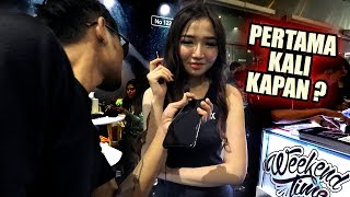 LAGI TENTANG SEKS AUTO DOYAN - Tanya SPG Vape Fair 2019 Jakarta - Eksperimen Sosial #3 - Weekendtime