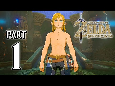 The Legend of Zelda: Breath of the Wild Walkthrough PART 1 (Switch) Gameplay Demo @ 1080p HD ✔