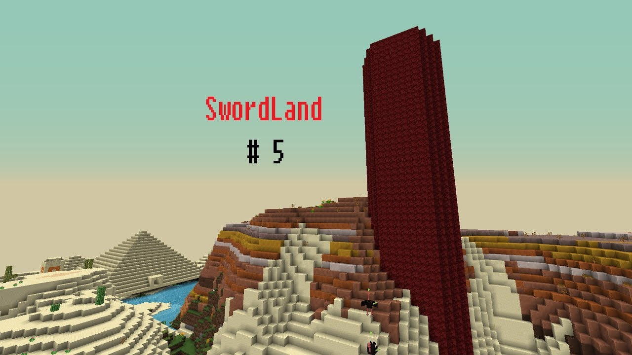 Lets Play Minecraft SwordLand #5 - Dungeon Tour
