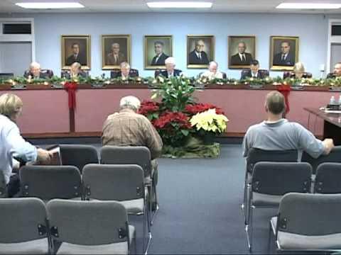12/6/11, City Council, Isle of Palms, South Carolina