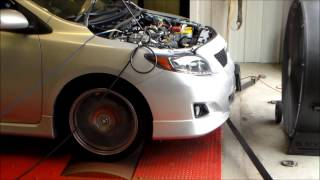 2010 Toyota Corolla S Turbo 5Spd - Dyno Video