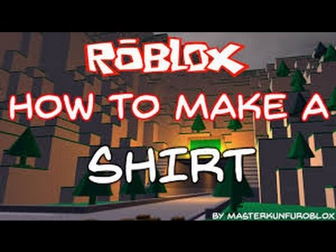 How to make a cool shirt on roblox youtube for Roblox how to copy shirts