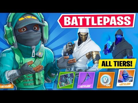 *NEW* CHAPTER 2 BATTLEPASS In Fortnite (TIER 100)