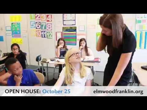 Elmwood Franklin School Open House: Oct. 25