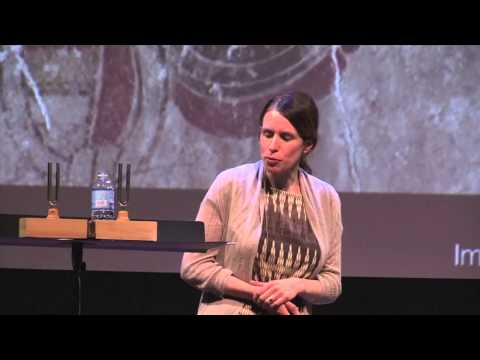Painting with mittens and bananas: Heather Hurst at TEDxSkidmoreCollege