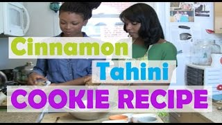 Cinnamon Tahini Cookies -- Simple Vegan Recipes, Part 2 With Jovanka Ciares
