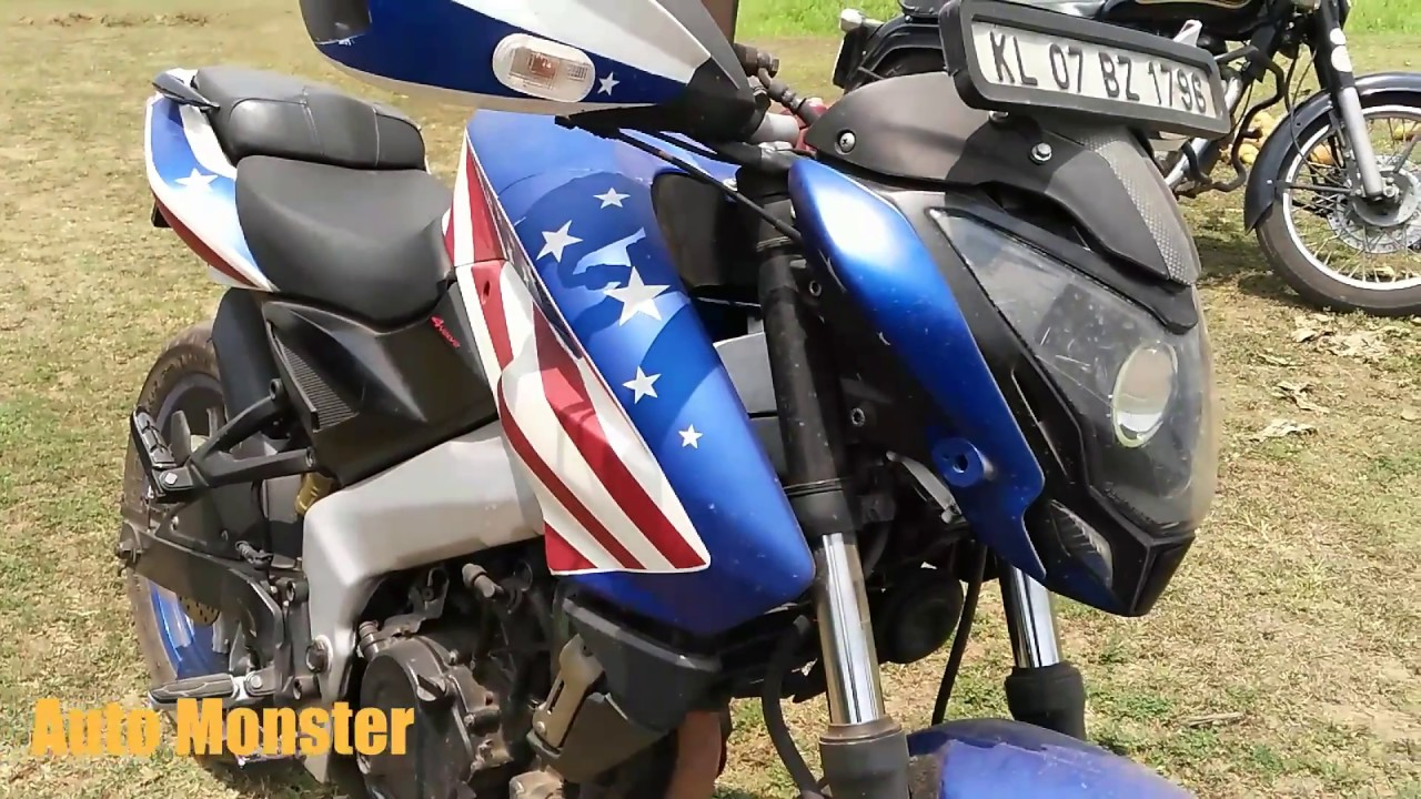 pulsar 200 ns modified pulsar 200 ns auto monster youtube