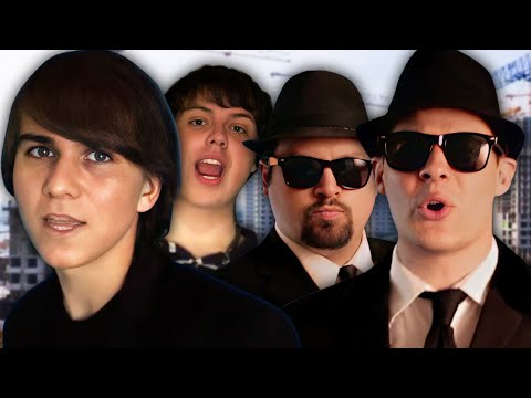 Drake & Josh vs The Blues Brothers - Epic Rap Battle Parodies