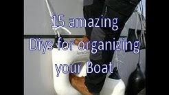 15 amazing diy ideas for organizing your boat