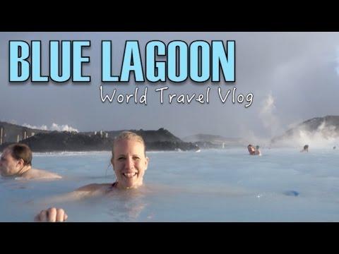 Blue Lagoon: Warm water/Freezing wind - ICELAND | World Travel Vlog