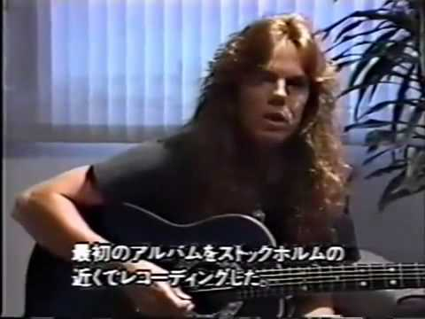 JOEY TEMPEST/  Interview & Live Acoustic Performance part 1 of 2 1991