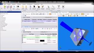 Creating sequential systems with prisms, CAD parts, and other complex objects in OpticStudio