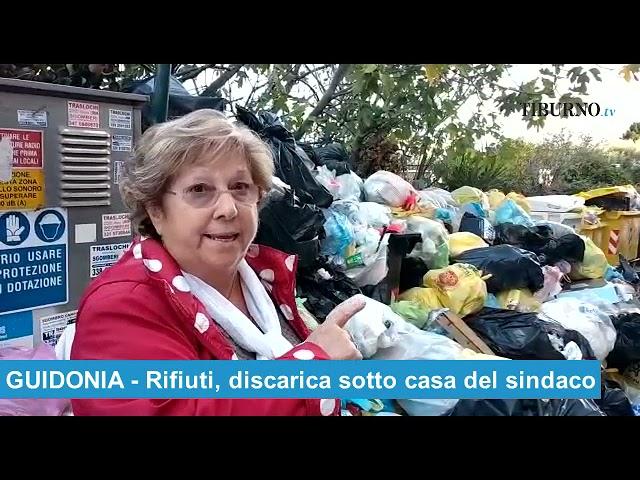 GUIDONIA - Rifiuti, discarica sotto casa del sindaco