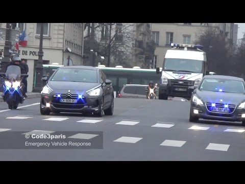 Voitures de Police Banalisées SDLP // Unmarked Police Cars VIP