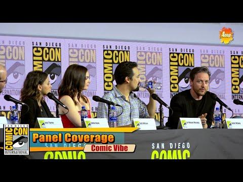 James Mcavoy | His Dark Materials Panel | San Diego Comic Con 2019