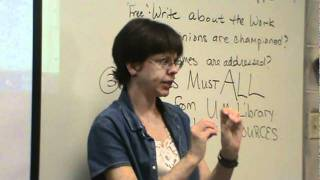 Candide Lecture (part 2) and annotated bibliography  part 1/3