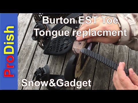 Burton Bindings EST Toe Tongue Replacment / Strap replacment