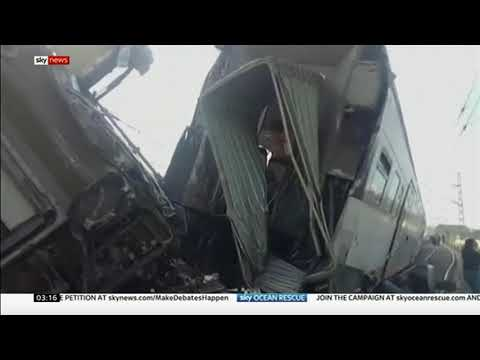 Train crash (Morocco) - BBC News - 17th October 2018