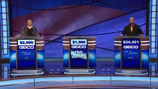 Jeopardy! Final Credit Roll (ft. Tribute to Alex Trebek)