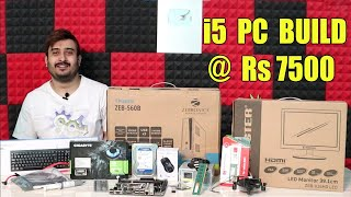 CHEAPEST PC BUILD WITH i5 PROCESSOR