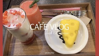 [ENG] CAFE VLOG with Christmas…