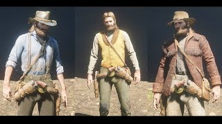 [SPOILERS] Red Dead Redemption 2 All Outfits & Clothing Showcase