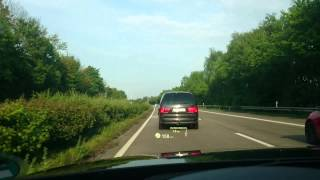 BMW 320d Touring Head Up Display
